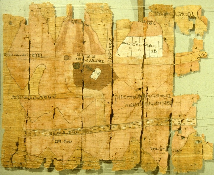 Turin Papyrus map part